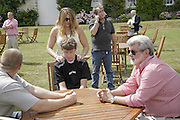 George Lucas, Cartier Style et Luxe champagne reception and lunch at the  the Goodwood festival of Speed. 9 July 2006. -DO NOT ARCHIVE-© Copyright Photograph by Dafydd Jones 66 Stockwell Park Rd. London SW9 0DA Tel 020 7733 0108 www.dafjones.com