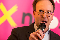 22.01.2018, Innsbruck, AUT, Landtagswahl in Tirol, Wahlkampfauftakt der Tiroler NEOS, im Bild Landessprecher Dominik Oberhofer // during the start of the State election in Tyrol, election campaign of the Tyrolean NEOS in Innsbruck, Austria on 2018/01/22. EXPA Pictures © 2018, PhotoCredit: EXPA/ Jakob Gruber