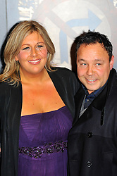 Stephen Graham and Hannah Walters at the  Crime Thriller Awards  in London, Thursday, 18th October 2012 Photo by: Chris Joseph / i-Images