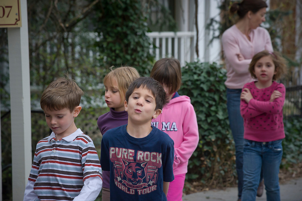 WASHINGTON (2010-2011) -- River School Kids, fire drill.  Photo by Johnny Bivera