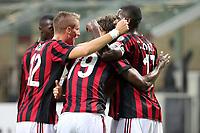 I giocatori del Milan
