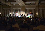 Alpha Phi Omega held their annual faculty pageant in the Baker Center Ballroom.
