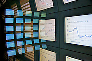 Bank stock infos in Zurich, Switzerland.