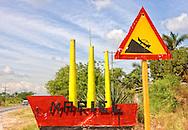 Sign in Orlando Nordase, Mariel, Artemisa, Cuba.
