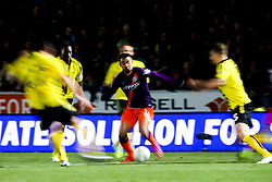 Gabriel Jesus of Manchester City takes on The Burton Albion defence - Mandatory by-line: Robbie Stephenson/JMP - 23/01/2019 - FOOTBALL - Pirelli Stadium - Burton upon Trent, England - Burton Albion v Manchester City - Carabao Cup