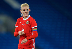 CARDIFF, WALES - Friday, November 24, 2017: Wales' captain Sophie Ingle during the FIFA Women's World Cup 2019 Qualifying Round Group 1 match between Wales and Kazakhstan at the Cardiff City Stadium. (Pic by David Rawcliffe/Propaganda)