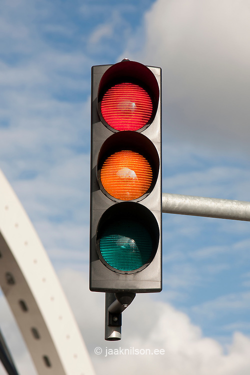 Two traffic lights simultaneously