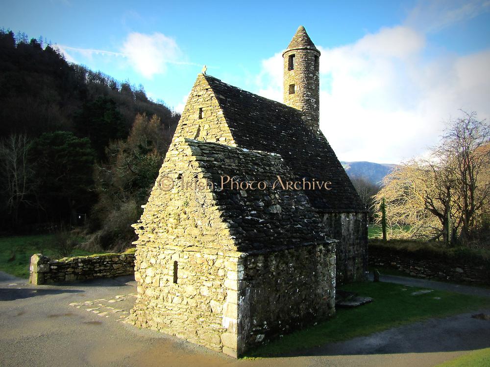 St Kevin's Church img2, Glendalough, Wicklow,  c.12th century a.d,