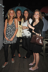 Left to right, ELIZABETH ACLAND, KATHERINE ACLAND, LADY NATASHA RUFUS-ISAACS and ELLIE STREET at a party to launch the new upstairs area of Mamilanji, 107 Kings Road, London SW3 on 19th April 2007.<br />