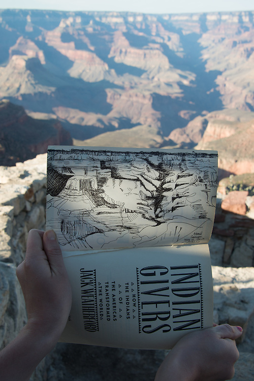 Grand Canyon Sketch