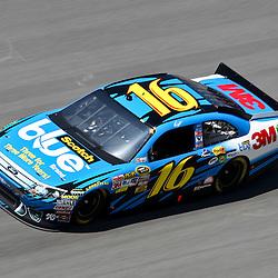 April 17, 2011; Talladega, AL, USA; NASCAR Sprint Cup Series driver Greg Biffle (16) during the Aarons 499 at Talladega Superspeedway.   Mandatory Credit: Derick E. Hingle