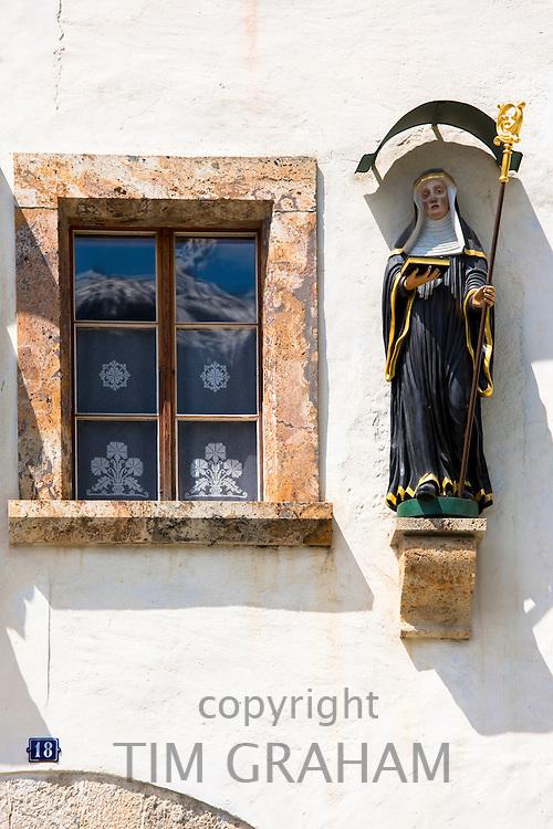 Convent of St John, Baselgia San Jon, a Benedictine Monastery in Mustair, Switzerland