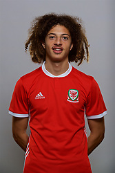 CARDIFF, WALES - Sunday, October 1, 2017: <br /> Ethan Ampadu. (Pic by David Rawcliffe/Propaganda)