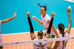 22-08-2017 NED: World Qualifications Slovenia - Bulgaria, Rotterdam<br /> Bulgaria win 3-1 against Slovenia / Hristina Ruseva #11 of Bulgaria