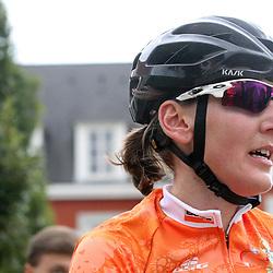 06-09-2015: Wielrennen: Ladiestour: Valkenburg<br /> VALKENBURG (NED) wielrennen <br /> De slotetappe van de Boels Ladies Tour startte traditioneel in Bunde en voerde het peloton door het Limburgse Heuvelland met finish op de top van de Cauberg. Lisa Brennauer wint de 18e Boels Rental Ladiestour.