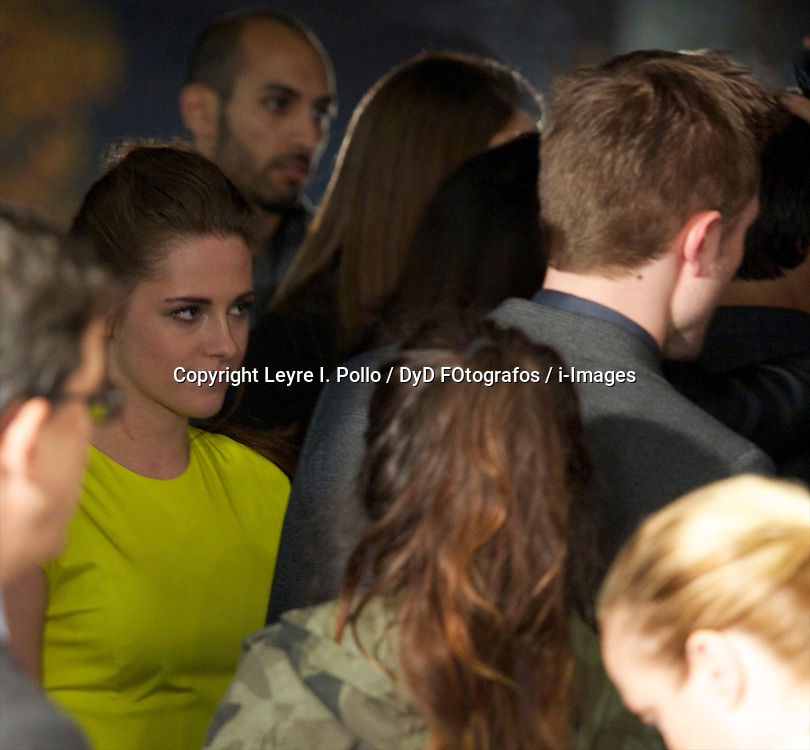 Kristen Stewart and Robert Pattinson attend the Twilight II premiere, Madrid, Spain, November 15, 2012.  Photo by Leyre I. Pollo / DyD FOtografos / i-Images...SPAIN OUT