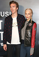 James Cook & Poppy Delevingne, Can't Stop, Won't Stop: A Bad Boy Story - UK Film Premiere, Curzon Mayfair, London UK, 16 May 2017, Photo by Brett D. Cove