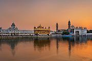 The Harmandir Sahib, 'The Golden Temple', Amritsar, Punjab, India.
