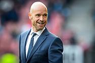20-05-2017: Voetbal: FC Utrecht v SC Heerenveen: Utrecht<br /> <br /> (L-R) FC Utrecht trainer Erik ten Hag tijdens het Eredivisie duel tussen FC Utrecht en Heerenveen op 20 mei 2017 in stadion Galgenwaard tijdens 1/2 finale play-offs <br /> <br /> 1/2 finale Play-offs, Eredivisie - Seizoen 2016 / 2017<br /> <br /> Foto: Gertjan Kooij
