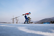 PYEONGCHANG-GUN, SOUTH KOREA - FEBRUARY 16: Maurice Manificat of France during the mens Cross Country 15k free technique at Alpensia Cross-Country Centre on February 16, 2018 in Pyeongchang-gun, South Korea. Photo by Nils Petter Nilsson/Ombrello               ***BETALBILD***