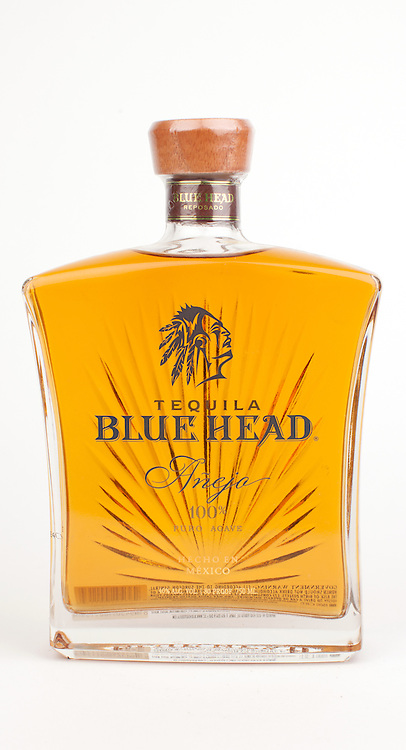 Blue Head anejo -- Image originally appeared in the Tequila Matchmaker: http://tequilamatchmaker.com