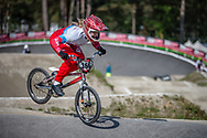 /w366/ during practice at Round 5 of the 2018 UCI BMX Superscross World Cup in Zolder, Belgium