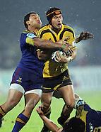 Rugby - S15 Highlanders v Hurricanes