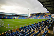 Fratton Park during the Sky Bet League 2 match between Portsmouth and Hartlepool United at Fratton Park, Portsmouth, England on 12 December 2015. Photo by Adam Rivers.