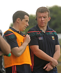 Mayo U20 manager Mike Solan with selector Damien Egan,<br />Pic Conor McKeown