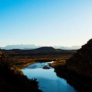 Sunrise in Santa Elena Canyon