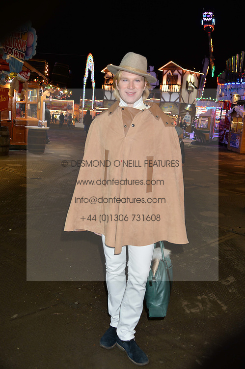 HENRY CONWAY at the Hyde Park Winter Wonderland - VIP Preview Night, Hyde Park, London on 17th November 2016.