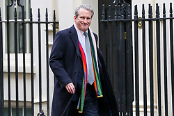 © Licensed to London News Pictures. 19/03/2019. London, UK. Damian Hinds - Secretary of State for Education arrives in Downing Street for the weekly Cabinet meeting. Photo credit: Dinendra Haria/LNP