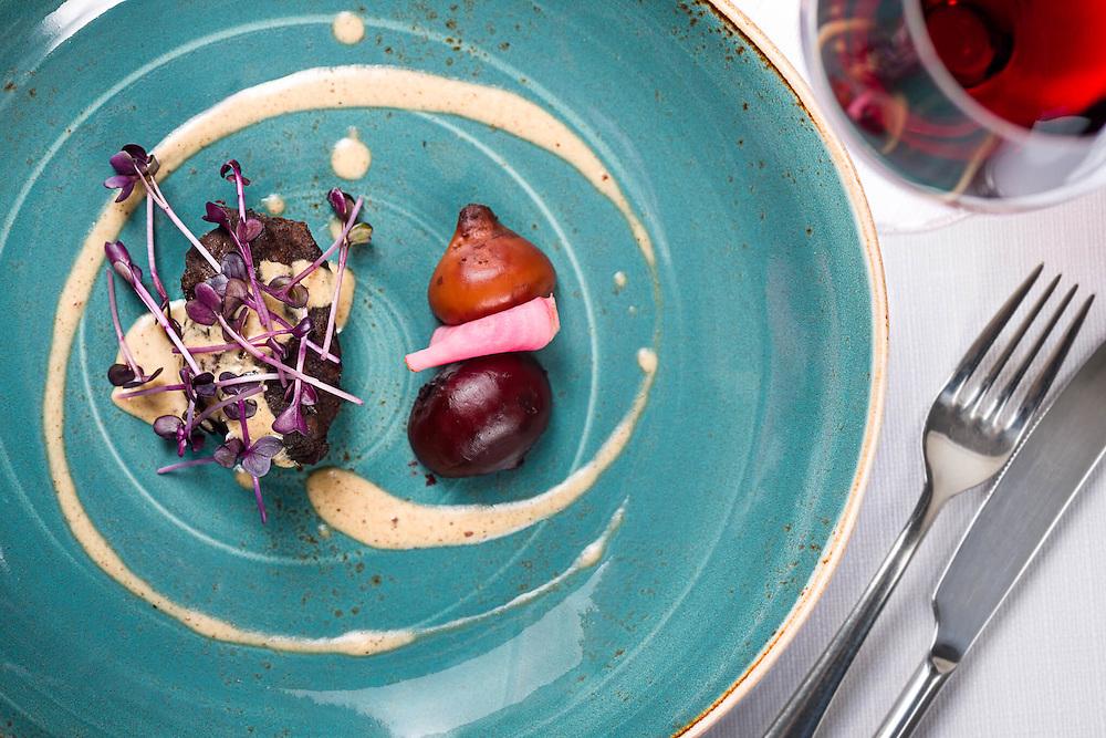 &quot;7 chwil&quot; by Piotr Pabisiak / menu degustacyjne w hotelu Hilton Garden Inn w Krakowie.<br /> Profesjonalna fotografia kulinarna
