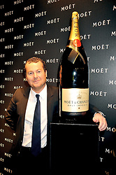 President of Moet and Chandon FREDERIC CUMENA at the Moet & Chandon Tribute to Cinema party held at the Big Sky Studios, Brewery Road, London N7 on 24th March 2009.