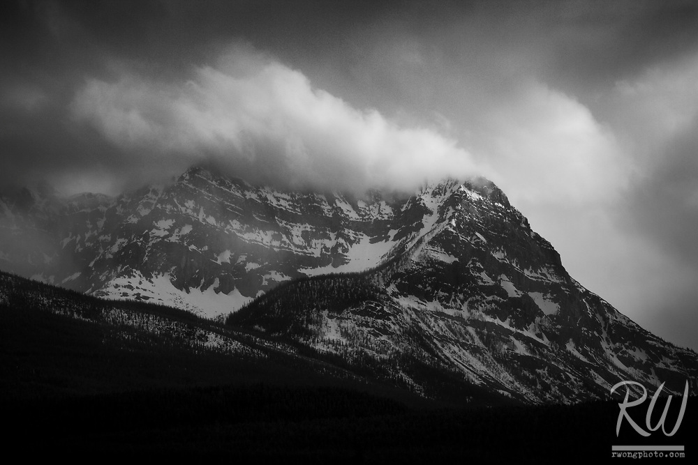 Storm Mountain, Banff National Park, Alberta, Canada<br />