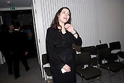 NIGELLA LAWSON, Re-opening of the Jewish Museum. Campden. London. 16 March 2010.