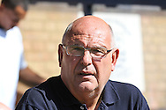 Picture by David Horn/Focus Images Ltd +44 7545 970036.08/09/2012.John Still, Manager of Dagenham and Redbridge looks on during the npower League 2 match at Roots Hall, Southend.