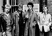 The Sex Pistols - London Oxford Street Glitterbest photosession - 1977