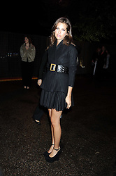 DASHA ZHUKOVA at the annual Serpentine Gallery Summer Party in Kensington Gardens, London on 9th September 2008.
