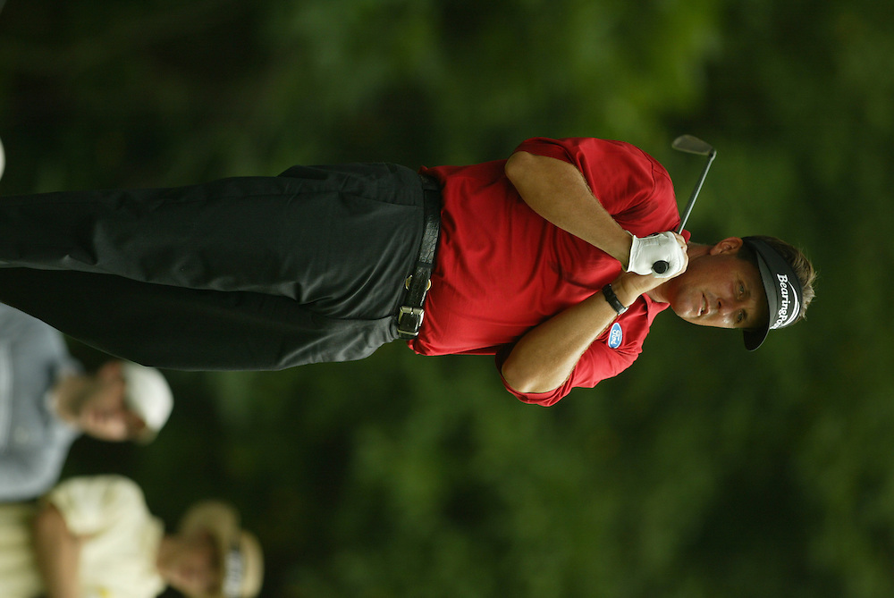 Phil Mickelson..2003 PGA Championship..Third Round..Oak Hill CC..Rochester, NY..Saturday, August 16 2003..photograph by Darren Carroll