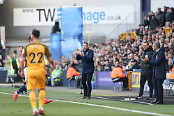Millwall manager Neil Harris gets animated - Mandatory by-line: Arron Gent/JMP - 17/03/2019 - FOOTBALL - The Den - London, England - Millwall v Brighton and Hove Albion - Emirates FA Cup Quarter Final