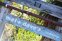 mel & dave's wedding at hotwater beach coromandel peninsula beach wedding at orua beach house cool ideas for your wedding 2016/2017 flowers venue's nibbles dresses sign boards dressing up your pets props for photos ceremony styling photo booths bands cakes and more