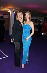 Left to right, Tv presenters SIAN LLOYD and FELICITY BARR at The British Red Cross London Ball - H2O The Element of Life, held at The Room by The River, 99 Upper Ground, London SE1 on 17th November 2005.<br /><br />NON EXCLUSIVE - WORLD RIGHTS