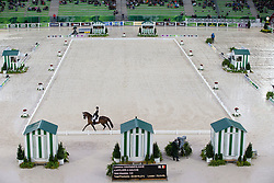 Laurence Vanommeslaghe, (BEL), Avec Plaisir - Grand Prix Team Competition Dressage - Alltech FEI World Equestrian Games™ 2014 - Normandy, France.<br /> © Hippo Foto Team - Leanjo de Koster<br /> 25/06/14