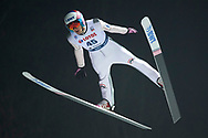 Poland, Wisla Malinka - 2017 November 18: Vojtech Strusa from Czech Republic soars through the air during FIS Ski Jumping World Cup Wisla 2017/2018 - Day 1 at jumping hill of Adam Malysz on November 18, 2017 in Wisla Malinka, Poland.<br /> <br /> Mandatory credit:<br /> Photo by © Adam Nurkiewicz<br /> <br /> Adam Nurkiewicz declares that he has no rights to the image of people at the photographs of his authorship.<br /> <br /> Picture also available in RAW (NEF) or TIFF format on special request.<br /> <br /> Any editorial, commercial or promotional use requires written permission from the author of image.
