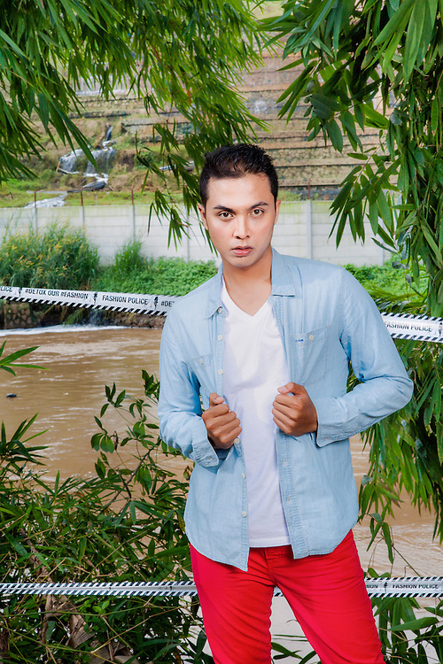 Fashion Shoot at Citarum River