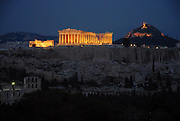 Acropolis by night.