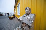 Artwork by Aðalheiður S. Eysteinsdóttir in Siglufjörður, Iceland.