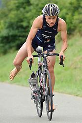 20.06.2010, Kobenz, AUT, X Trim Triathlon, im Bild Vincent Rieß (SU Tri Styria), EXPA Pictures © 2010, PhotoCredit: EXPA/ S. Zangrando / SPORTIDA PHOTO AGENCY