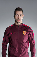 Portrait of Serbian soccer player Nikola Petkovic of Yanbian Funde F.C. for the 2017 Chinese Football Association Super League, in Namhae County, South Gyeongsang Province, South Korea, 11 February 2017.